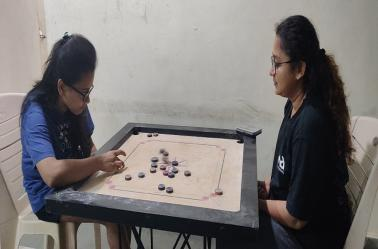 National Sports Day Carrom