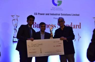Business Standard Best Project Award