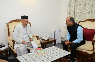 Director NITIE had a courtesy visit to Hon. Governor of Maharashtra Shri Bhagat Singh Koshyari at Raj Bhavan, Mumbai.
