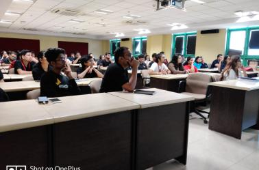 "Enactus India Organised ""Social Incubation Workshop"" at NITIE in association with Enactus NITIE on 15th February 2020."