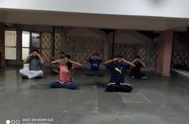 National Sports Day Yoga